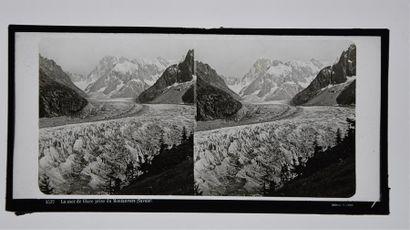 Alpes, Savoie et Haute-Savoie, stéréoscopie...