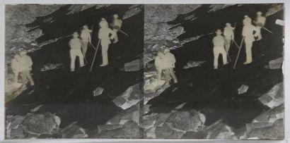 Montagne et alpinisme, vers 1900 16 négatifs...