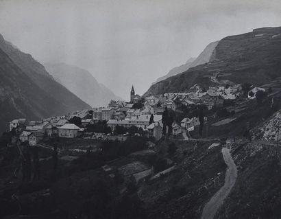 Voyages dans les Alpes, 1916 Bel album amateur...