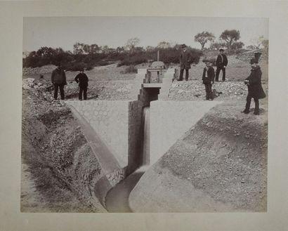 Canal d'irrigation de Pierrelatte (Drôme...