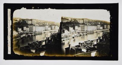 Lyon stéréoscopique 1855/1870 Rare et très...