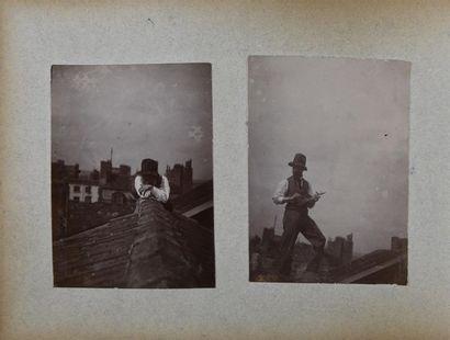 Album de René BLAIN (1873-1917) peintre,...