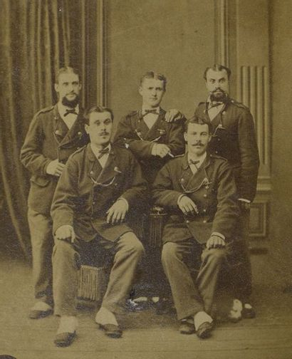 Courtiers au Crédit Lyonnais, vers 1880 Étonnants...