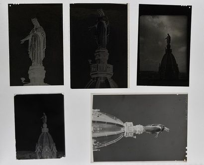 Lyon en cartes postales dans les années 1950...