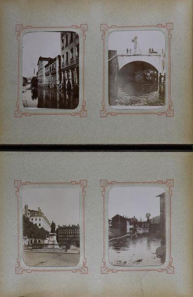 Intéressant album amateur, vers 1898-1900...