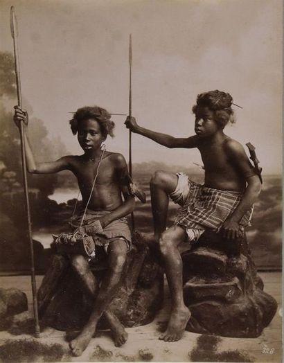 Afrique de l'Ouest, vers 1875/1880 Rare et...