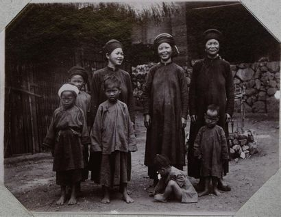 Cochinchine, Indochine, Annam et Chine (région...