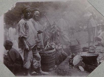Cochinchine, Indochine, Annam et Chine (région de Dong Van, extrême nord de l'actuel...