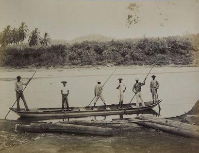 Construction du Canal de Panama (1882-1889)...