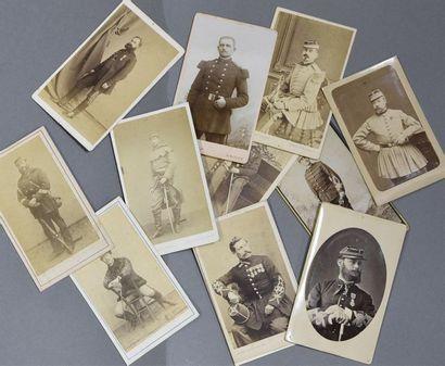 Fringants militaires du XIXe siècle Beau...