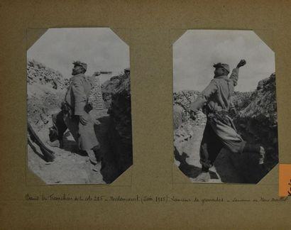 Grande Guerre 1914-1918, Parc d'Artillerie...