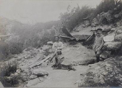 Album amateur, 1913 Remarquable album réunissant...