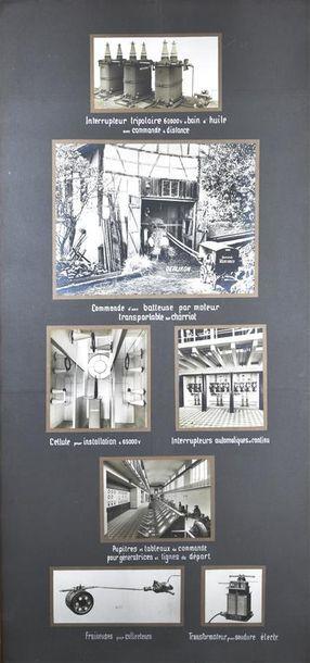 Société Oerlikon à Zurich, Suisse, vers 1920...
