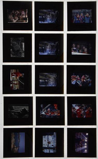 Diapositives pédagogiques, 1960/1980 Fort lot d'environ 850 diapositives, toutes...