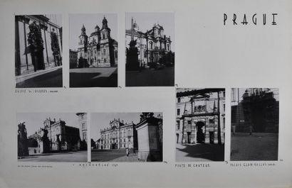 Tchécoslovaquie, années 1950 Somptueux recueil...