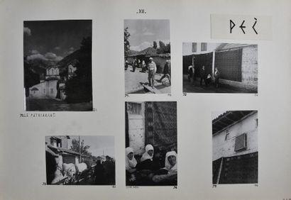 Yougoslavie, années 1950 Remarquable recueil...