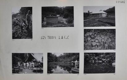 Guyane, années 1950 Rare recueil amateur...