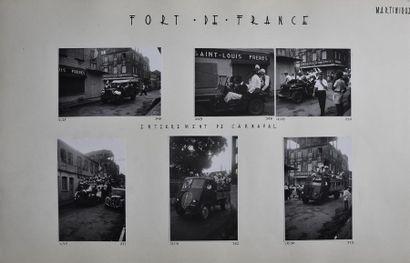 Martinique, années 1950 Rare recueil amateur...