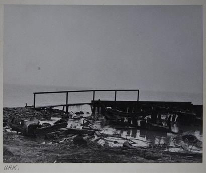 Roger Parry (1905-1977) Hollande, 1937/1938, paysages Ensemble de vues de campagne,...