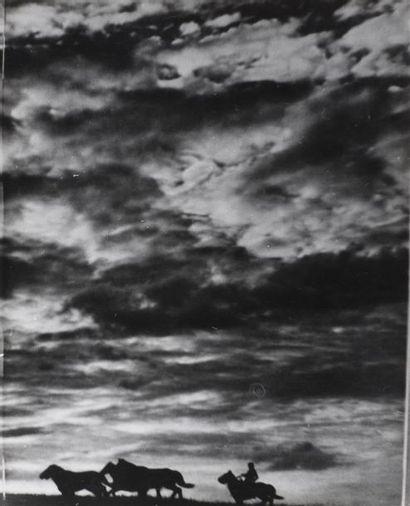 Roger Parry (1905-1977) Paysages, 1935/1950 Réunion de 16 tirages, campagne, études...
