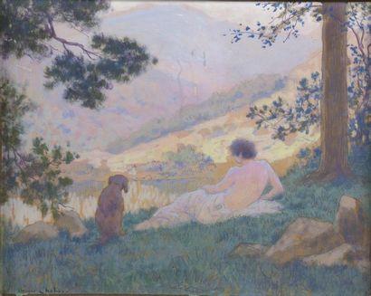 Maurice CHABAS (1862-1947) Paysage Huile...