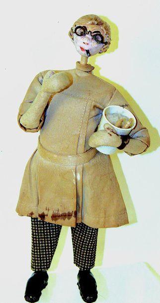 «Docteur» poupée caricaturale d'origine espagnole...