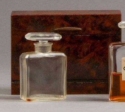 Chanel - (années 1920)  Rare coffret rectangulaire...
