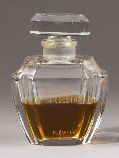 Pléville - «Flamme de Gloire» - (1924)  Flacon...