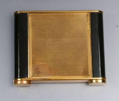 Travail Français – (années 1950-1960)  Lot comprenant une boite de beauté en laiton...
