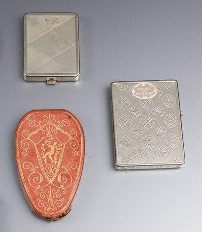 Woodworth - (années 1925-1930)  Trois rares...