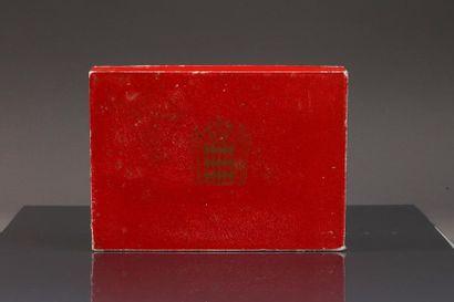 Exceptionnel et rarissime coffret édité à 800 exemplaires à l'occasion de la célébration...