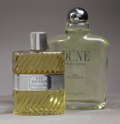 Christian Dior - (années 1990)  Deux flacons...