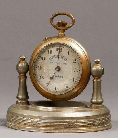 Bourjois - (années 1920)  Rare montre publicitaire...