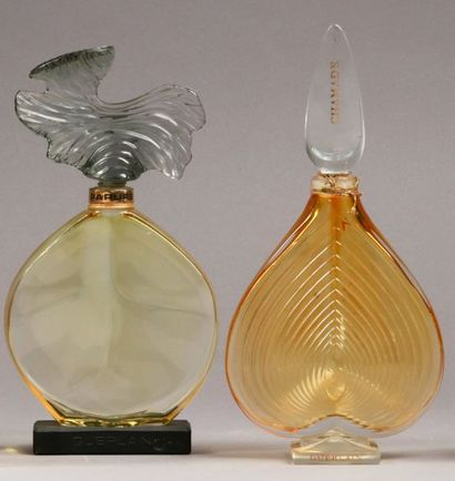 Guerlain - (1969-1975)  Lot de deux flacons...