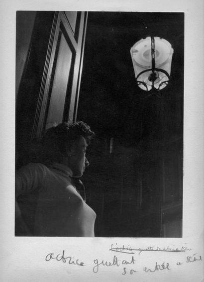 """Nicolas YANTCHEVSKY (1924-1972). """" Actrice guettant son entrée sur scène"""" et """"Piège""""...."""