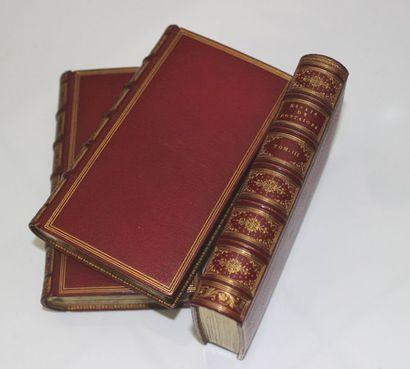 Michel de.MONTAIGNE Les Essais. Amsterdam Antoine Michiels [1659]. 3 volumes In-12,...