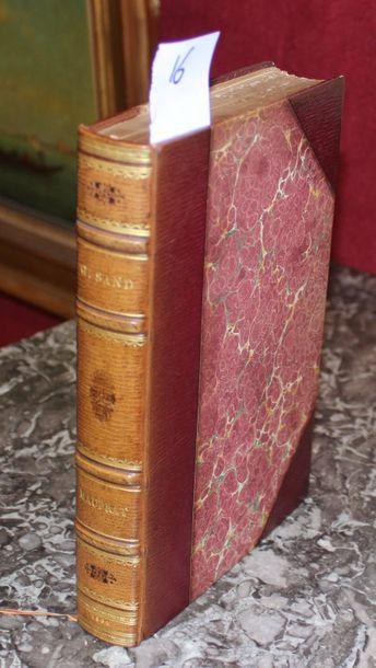 GEORGE SAND  Mauprat  Paris , Quantin 1886,...