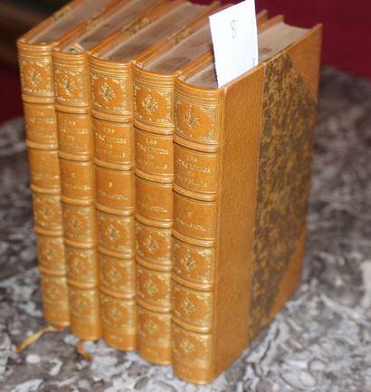 RABELAIS Les Cinq Livres. Publiés avec des...