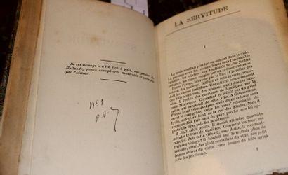 RIVET Fernand, la Servitude, Stock éditeur,...