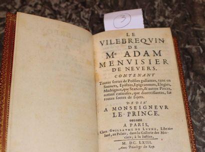 Le Vilbrequin de Maitre Adam, menuisier à...