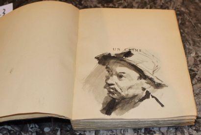 BERNANOS Georges, Un crime, illustré par Théodore Van Elsen, edition de la Mappemonde,...