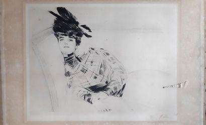 Paul César HELLEU (1859-1927) d'après
