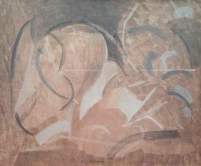 André BEAUDIN (1895-1979)  Composition, Clair...