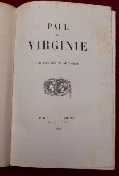 J H BERNARDIN DE SAINT PIERRE  Paul et Virginie,...