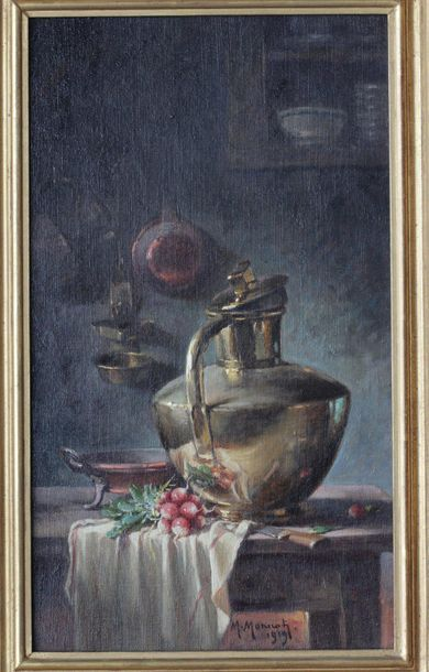 MAURICE LOUIS MONNOT (1869-1937) Maurice Louis MONNOT (1869-1937)  Natures-mortes...