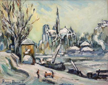 Pierre DUMONT (1920-1987)