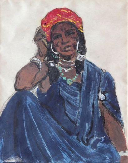 André SURÉDA (1872-1930) attribué à  Femme...