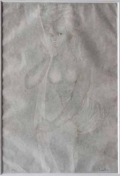 Léonore FINI (1907-1996)  Lithographie sur...