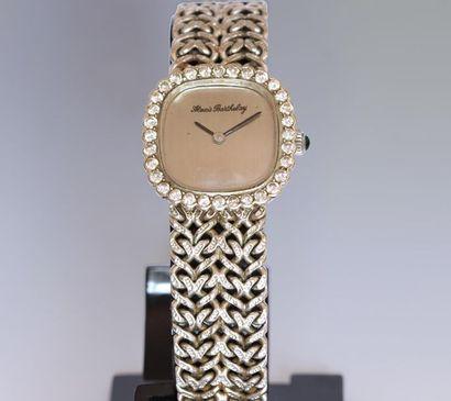 ALEXIS BARTHELAY Alexis Barthelay Ladies' wristwatch, case and bracelet in 750°/°°...