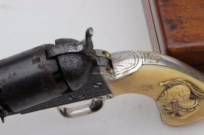 Revolver Colt Navy PRESENT THAT WOULD HAVE BEEN GIVEN FROM SAMUEL COLT according...